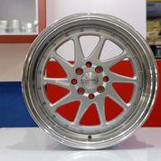 Velg Celong Size 17 Tipe Ozora Lebar 75-85 8x100-114 Silver