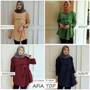 Pakaian Muslim AFIA TOP Dpcpl-059 Terbaru