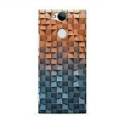 Colorful Textured Wall Candy Sony Xperia XA2 Custom Hard Case