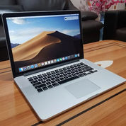 "Laptop MacBook Pro Retina 15"" Core I7 Mid 2015 RAM 16GB Bekas"