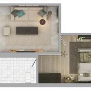 Apartemen The Mansion 1BR Kemayoran Jakut