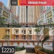 Apartemen Grand Palm Tower C Lantai 15, Jakarta Barat, 45 M, PPJB