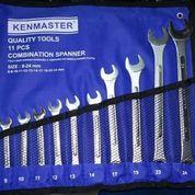 KUNCI RING PAS 11 Pcs KENMASTER 8mm - 24mm