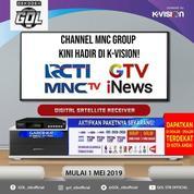 Parabola Mini Bisa RCTI, MNC Grup Gambar Jernih Tanpa Bulanan