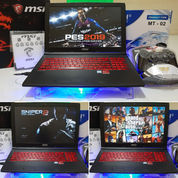 MSI GL62M 7REX GTX 1050Ti SSD HDD FULLSET MULUS BGT 98% BONUS MURAH