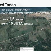 Tanah Tepi Jalan Nasional 3, Dekat Bandara NYIA Kulonprogo - Yogyakarta