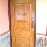 Pintu Jati Solid Set Kusen