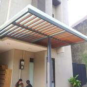Canopy Kaca Dan Aluminium