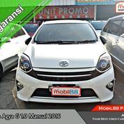 Toyota Agya 1.0 G Mt 2016 #PromoTDP9Jt
