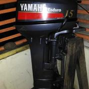 Mesin Tempel Yamaha Enduro 15pk 2nd Long