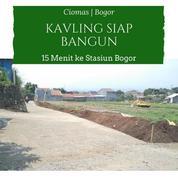 Kavling Siap Bangun Murah Lokasi Strategis Dalam Cluster Di Ciomas Bogor