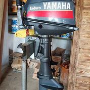 Mesin Speed Boat Yamaha 8pk 2tak Kondisi 85%