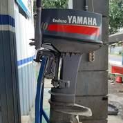 Mesin Tempel Speed Boat Yamaha 40pk 2tak Kondisi 90%