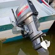 Mesin Tempel Speed Boat Yamaha 75pk 2tak Kondisi 85%