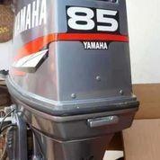 Mesin Tempel Speed Boat Yamaha 85pk 2tak Kondisi 85%