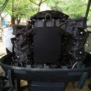 Mesin Tempel Speed Boat Yamaha 115pk 2tak Kondisi 90%