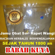 Jamu Sari Rapet Wangi Jamu Babah Kuya Premium