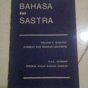 Buku Bekas Bahasa Dan Sastra