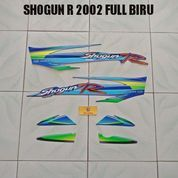 Striping Shogun R 2002 Full Biru