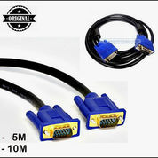 Kabel VGA 5 & 10 M Gold Plated High Quality