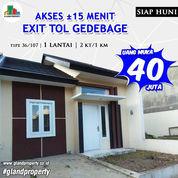 READY STOCK Rumah Siap Huni Di Bandung Timur, Akses Dekat TOL Gedebage