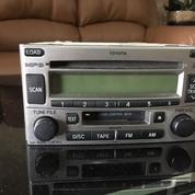 Head Unit Tape Toyota Rush Oem Original