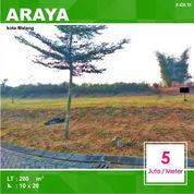 Tanah Kavling Murah Luas 200 Di Lotus Valley Araya Kota Malang _ 438.19