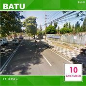 Tanah Poros Jalan Luas 8.316 Dekat Kantor Wali Kota Batu Malang _ 443.19
