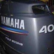Mesin Tempel Speed Boat Yamaha 40hp 4tak Kondisi 90%
