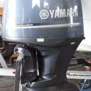 Mesin Tempel Speed Boat Yamaha 100hp 4tak Kondisi 95%