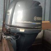 Mesin Tempel Speed Boat Yamaha 100hp 4tak Kondisi 85%