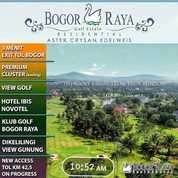 Kavling Site Golf Dengan View Golf DiLokasi Strategis Di Bogor