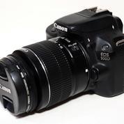 Canon 100D Kit EF-S 18-55mm F3.5-5.6 III SC 9K Fullset