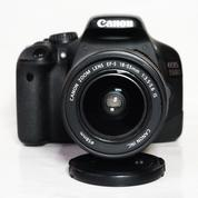 Canon 550D Kit EF-S 18-55mm F.3.5-5.6 IS Good Condition