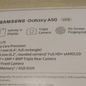 Samsung A50 Baru Beli