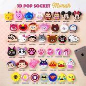 Popsocket Pop Socket 3D Karakter Lucu