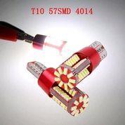Led T10 Lampu Senja Motor Mobil 57 Titik Led Smd Canbus 1 Pcs