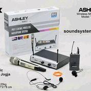 Mic Wireless Ashley Voice Pegang + Clipon