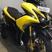 Yamaha Aerox R Yellow 2018 (Ganteng Dan Siap Gass)