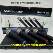 Mic Pegang Wireless Soundcrest