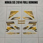 Striping Ninja SS 2014 Full Kuning