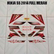 Striping Ninja SS 2014 Full Merah