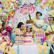 Birthday Cake Dan Dessert Table Dekorasi Balon Bali