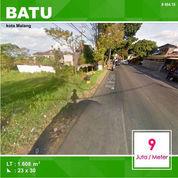 Tanah Poros Jalan Raya Luas 1.607 Dekat Jatim Park 3 Batu Malang _ 464.19
