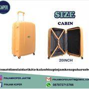 Sewa Koper Size Cabin