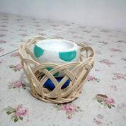 Tempat Lilin Model Bola (Bisa Untuk Souvenir, Kado, Koleksi)