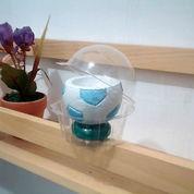 Tempat Lilin Model Bola (Kemasan Plastik Imut)