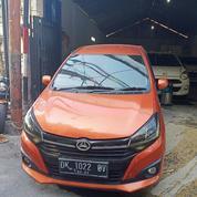 New Ayla X MT 1.2 2018 Orange Mobil Bekas Bali