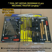 Tool Set Original GESTAR CROSSMAN 52.Pcs MECHANIC TRUSTER Lengkap
