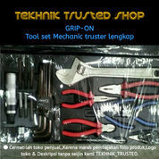 Tool Set Original GRIP ON 59.Pcs MECHANIC TRUSTER Lengksp